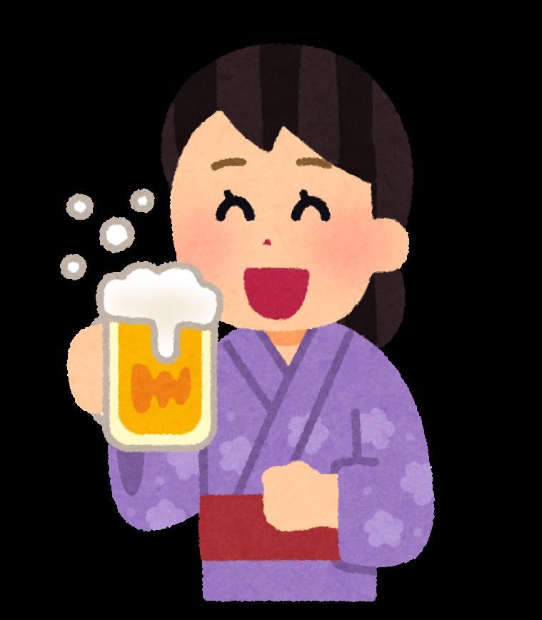 img_drink_beer_yukata_woman